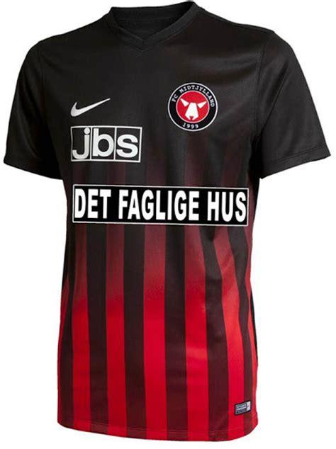 fc midtjylland   home kit released footy headlines