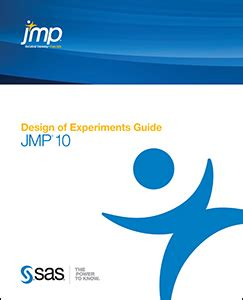 jmp design of experiment guide jmp 10 documentation