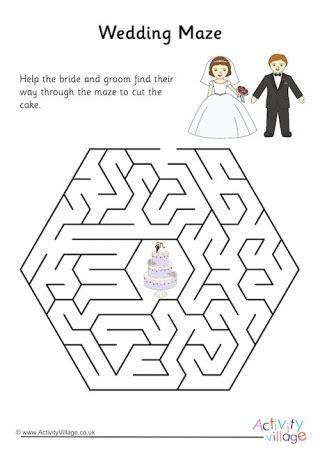 wedding mazes