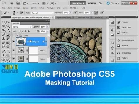 tutorial photoshop adobe cs5 adobe photoshop cs5 masking tutorial how to use