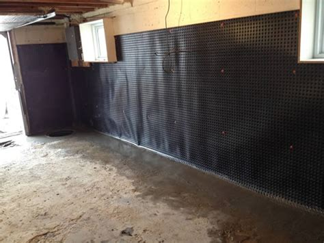 waterproofing interior basement walls basement waterproofing toronto we fix d basements