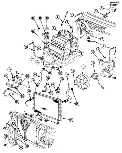 gm 3800 engine diagram gm 3800 cooling system diagram gm free engine image for
