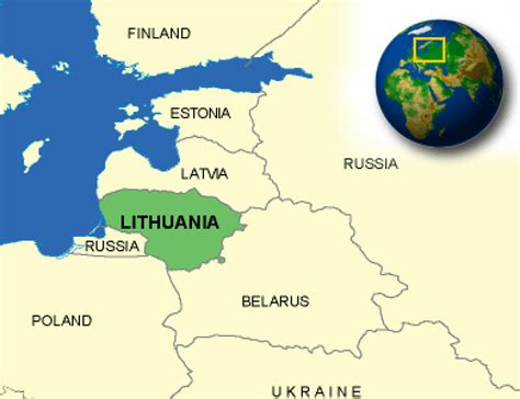 lithuania location on world map lithuania facts culture recipes language government