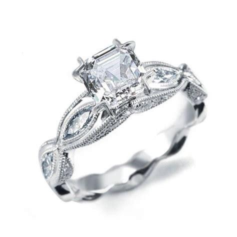 vintage inspired engagement rings uk