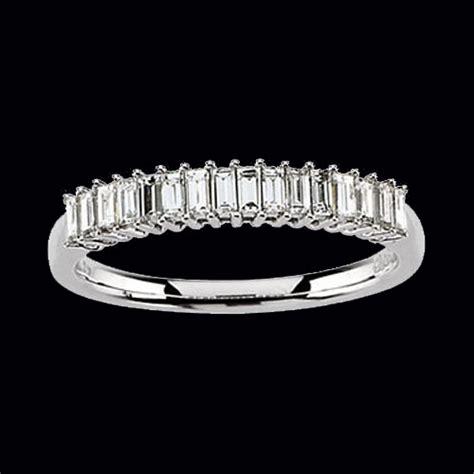 baguette diamond anniversary ring