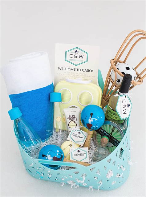 home welcoming gifts welcome gift inspiration for metropolitan traditional and destination weddings dfw events