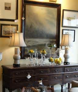 Dining Room Framed Art by Dining Room Sideboard Decorating Ideas With Abstract