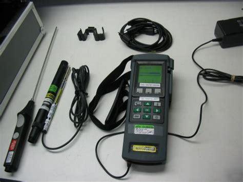 testo l conta testo 400 multi function reference measuring instrument