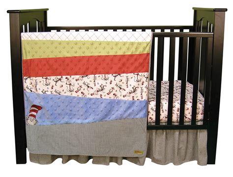 Dr Seuss Crib Bedding Set Dr Seuss Cat In The Hat 3 Crib Bedding Set Trend Lab Interiordecorating