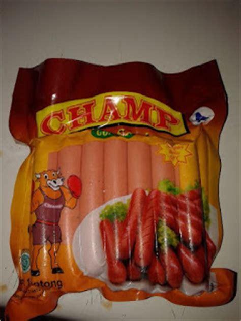 Ch Sosis Ayam 1kg 40 Pcs distributor frozen food nugget stickie