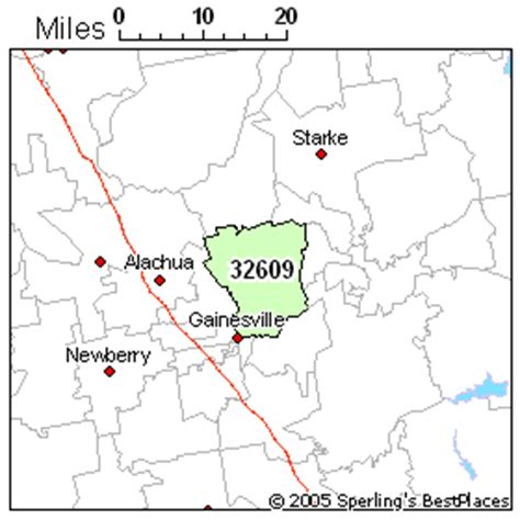 zip code map gainesville fl best place to live in gainesville zip 32609 florida