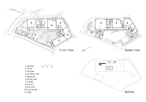 kindergarten floor plan exles km kindergarten and nursery hibinosekkei youji no