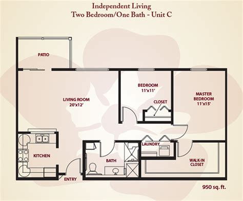 apartment dimensions apartment sizes and floor plans for stillwater ok