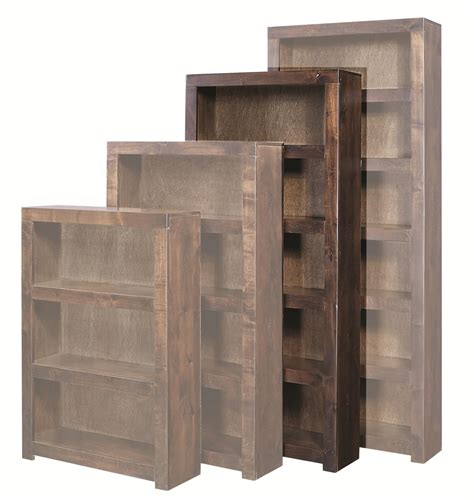 72 inch bookcase with doors aspenhome contemporary alder dl3472 tob 72 inch bookcase