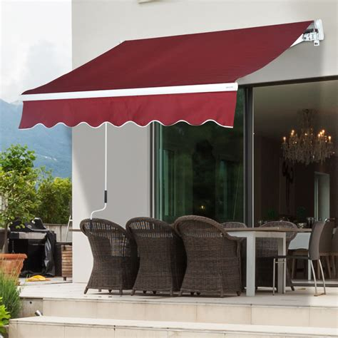 Outdoor Patio Canopy by Patio Canopy Beautiful Outdoor 8 X7 13 X8 Patio Awning Sun