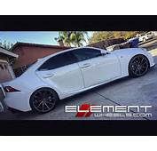 20 Inch Staggered Vossen CVT Gloss Graphite True Directional On 2015