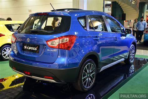 Suzuki Sx4 Price Malaysia Suzuki Sx4 S Cross In Malaysia Rear Three Quarter Indian