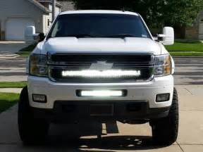 Led Light Bar Silverado 40 Inch Led Light Bar And The Grille Bracket For 2007 2013 Chevrolet Silverado 1500 2500 Hd