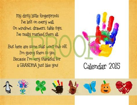 handprint calendar 2010 template search results for 2015 handprint calendar with poems