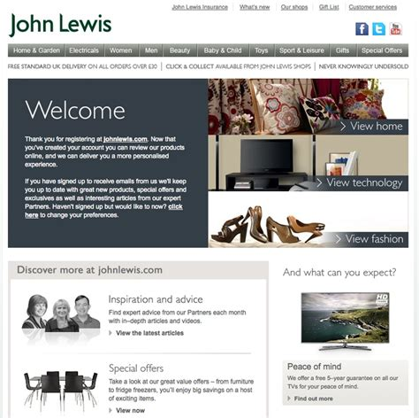 email format john lewis 32 best images about welcome emails on pinterest email
