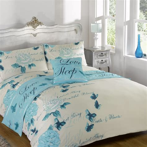 Odette Butterfly Duvet Quilt Bedding Bed In A Bag Cushion Bedding For