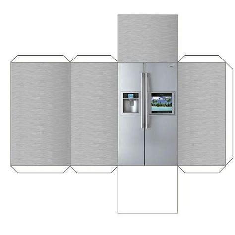 How To Make A Paper Refrigerator - refrigerator 영어자료 refrigerator dioramas