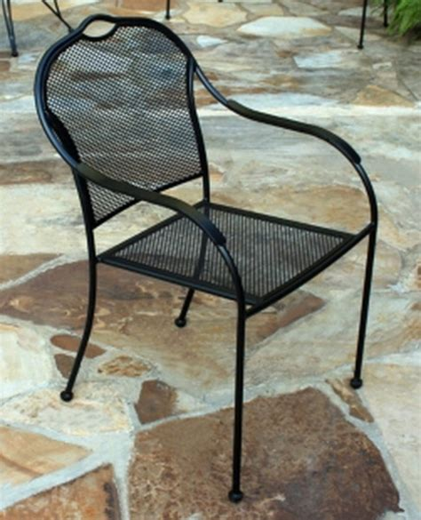 Black Iron Patio Chairs New Black Wrought Iron Bistro Chairs Commercial Outdoor Patio Cafe Furniture Ebay