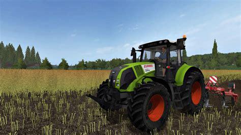 Ls 17 Claas Axion 820 V 1 1 Claas Mod F 252 R Landwirtschafts Simulator 17