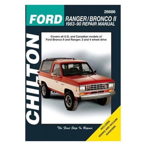 service manual 1986 ford bronco ii and maintenance manual free pdf 1983 1984 1990 1991 1992