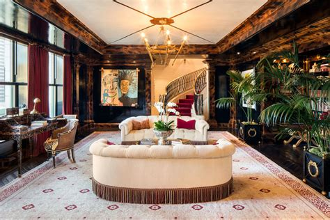 home design stores manhattan iconic central park penthouse at the plaza with lavish