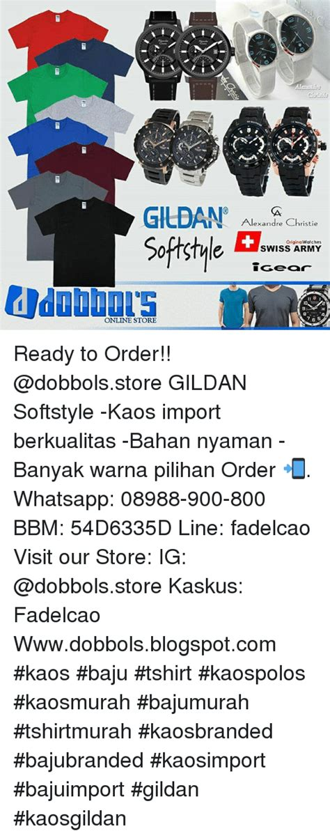 Kaos Gildan Softstyle Radio 04 gildan alexandre christie original watches e swiss army store ready to order softstyle