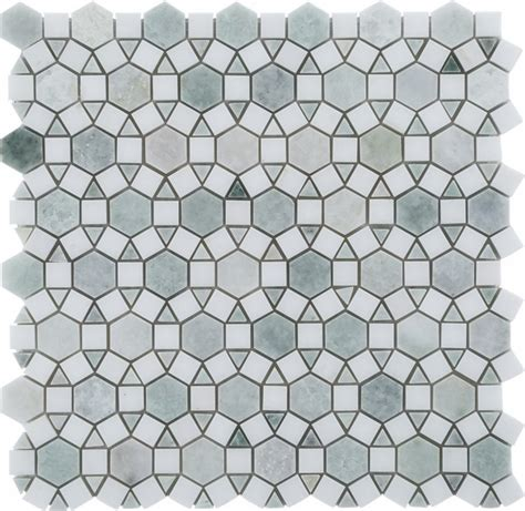 ming green marble tile homesfeed wholesale ming green and thassos white mixed marble
