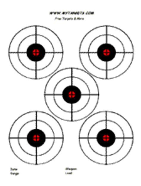 printable 22lr targets เป า สำหร บพ มพ ไว ใช เอง