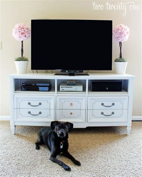 How To Turn Dresser Into Entertainment Center by Pin By Carpenter On Repurposed
