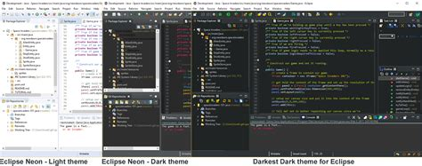 theme eclipse java darkest dark theme for a total eclipse the eclipse