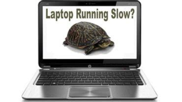 the lazy mans guide to fixing a computer running too slow
