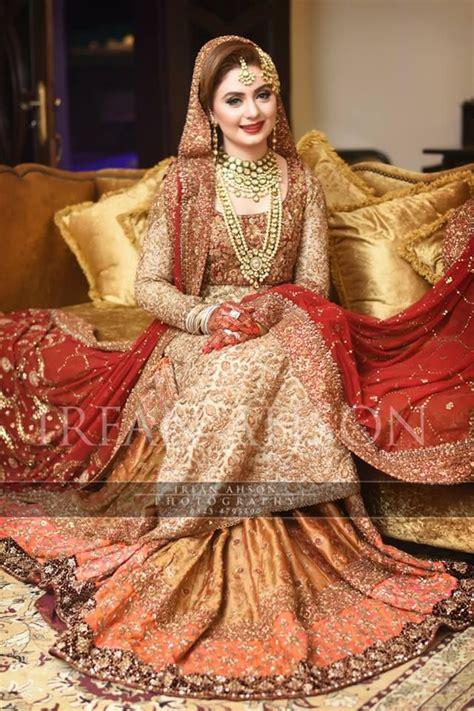 Latest Pakistani Bridal Dresses 2018 For Girls   StyleGlow.com