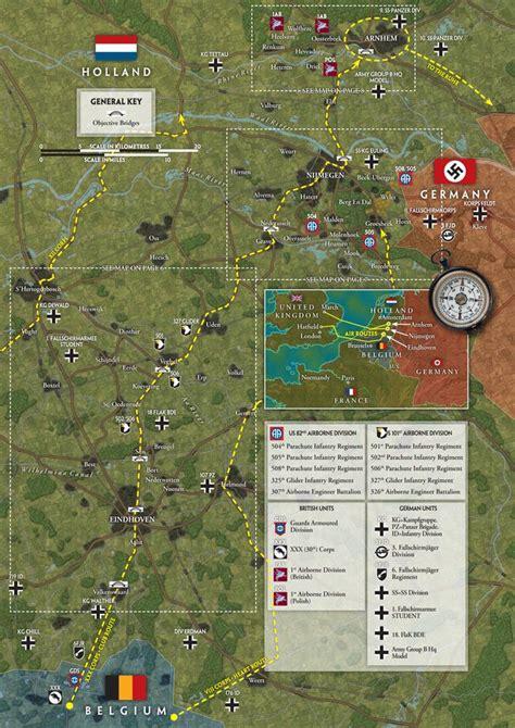 operatie market garden kaarten maps