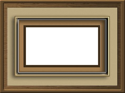 photo frame brown frame by collect and creat on deviantart