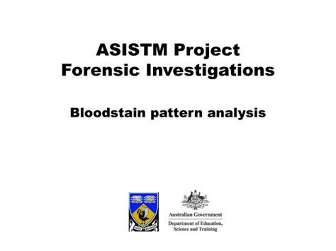 bloodstain pattern analysis chapter 10 ppt bloodstain pattern analysis powerpoint presentation