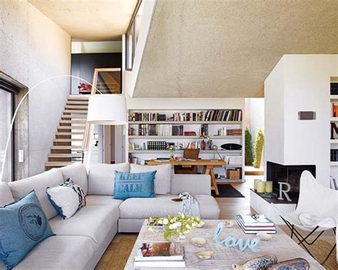 home 2 two story house interior design in spain summer house by
