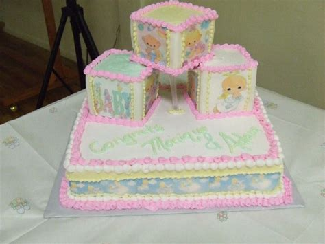 Precious Moments Baby Shower by Precious Moments Baby Shower Cake Precious Moments