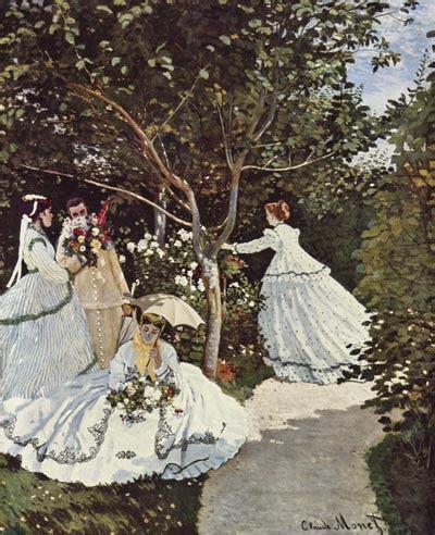 claude monet donne in giardino i colori dell impressionismo 1 pissarro degas monet