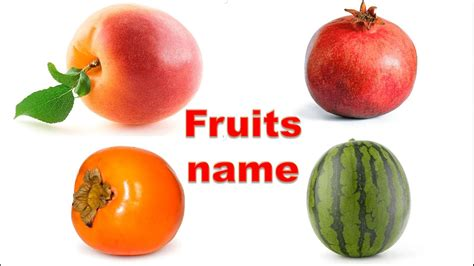 i fruit names learn fruits name in fruits images for
