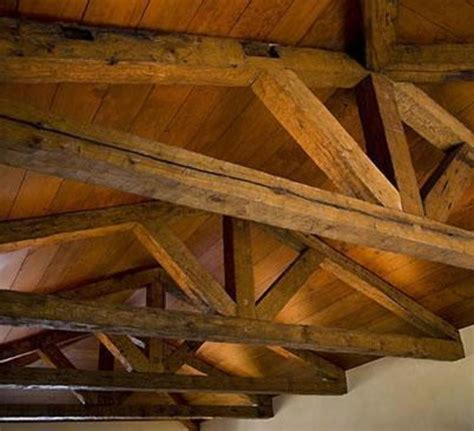 wood ceiling beams hollow rustic timber wood decorative design bookmark 7151