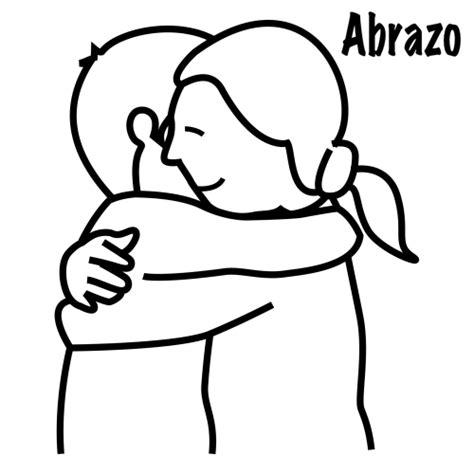 imagenes de abrazos tiernos para colorear abrazos dibujos para colorear imagui