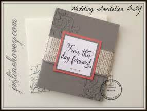 Handmade Wedding Invitations Diy - easy diy handmade wedding invitations how to