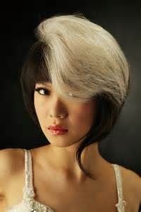 two toned hair color two toned hair color best medium hairstyle