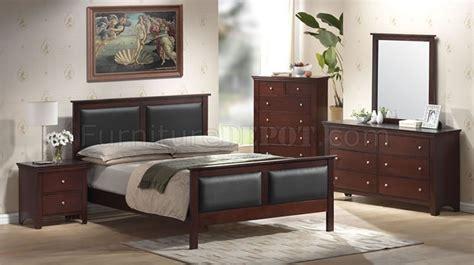 mahogany bedroom furniture contemporary mahogany color contemporary bedroom set with leather