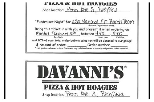 davanni's coupon 2018